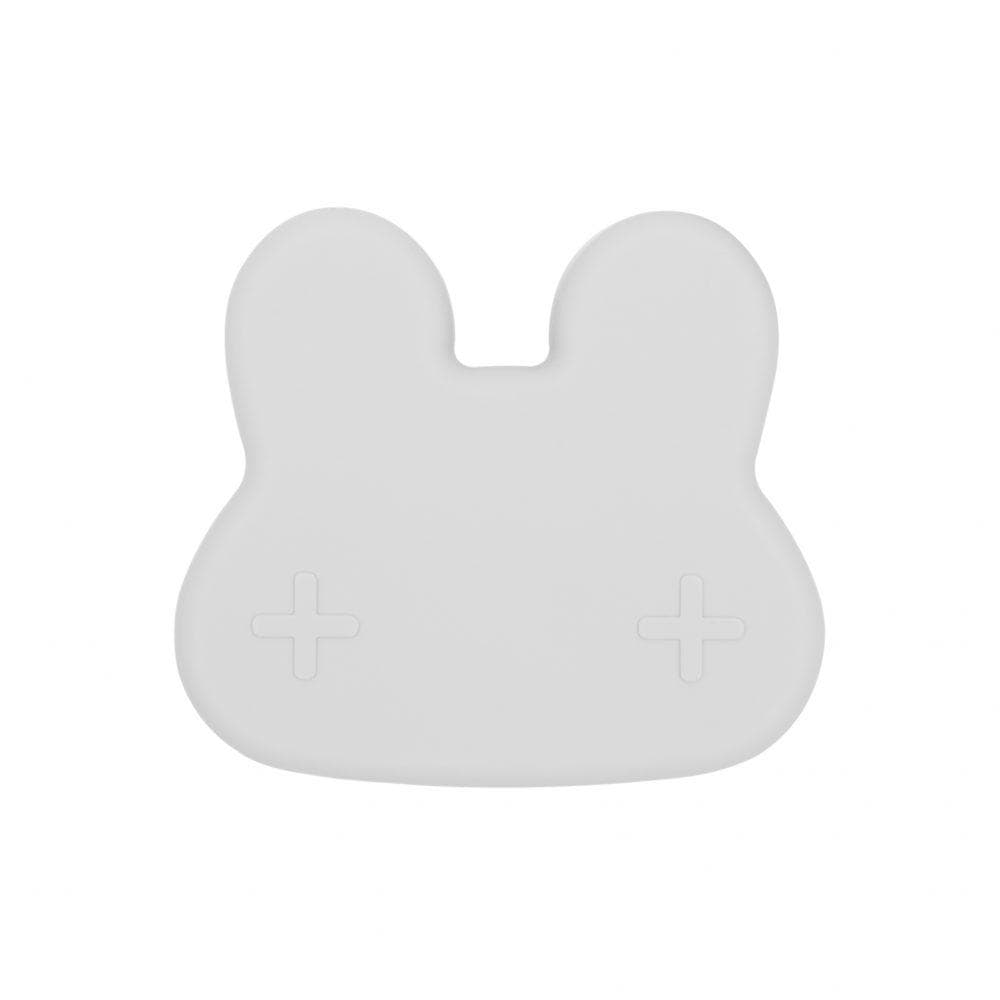 We Might Be Tiny Kid's Tableware Bunny Snackie in Light Grey