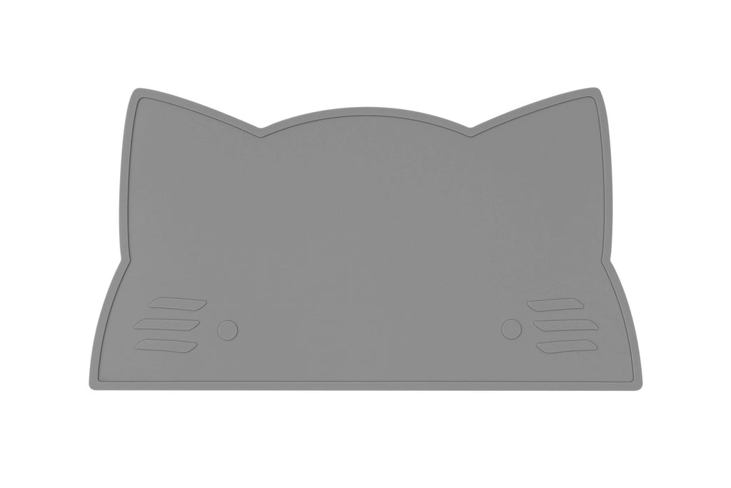 We Might Be Tiny Kid's Tableware Cat Placie In Grey