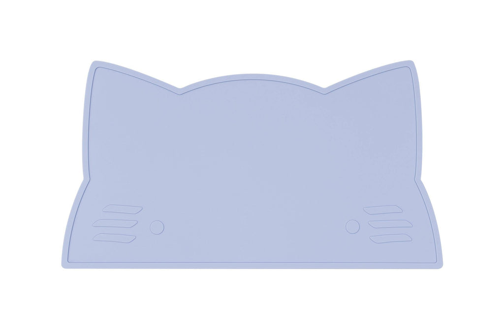 We Might Be Tiny Kid's Tableware Cat Placie In Powder Blue