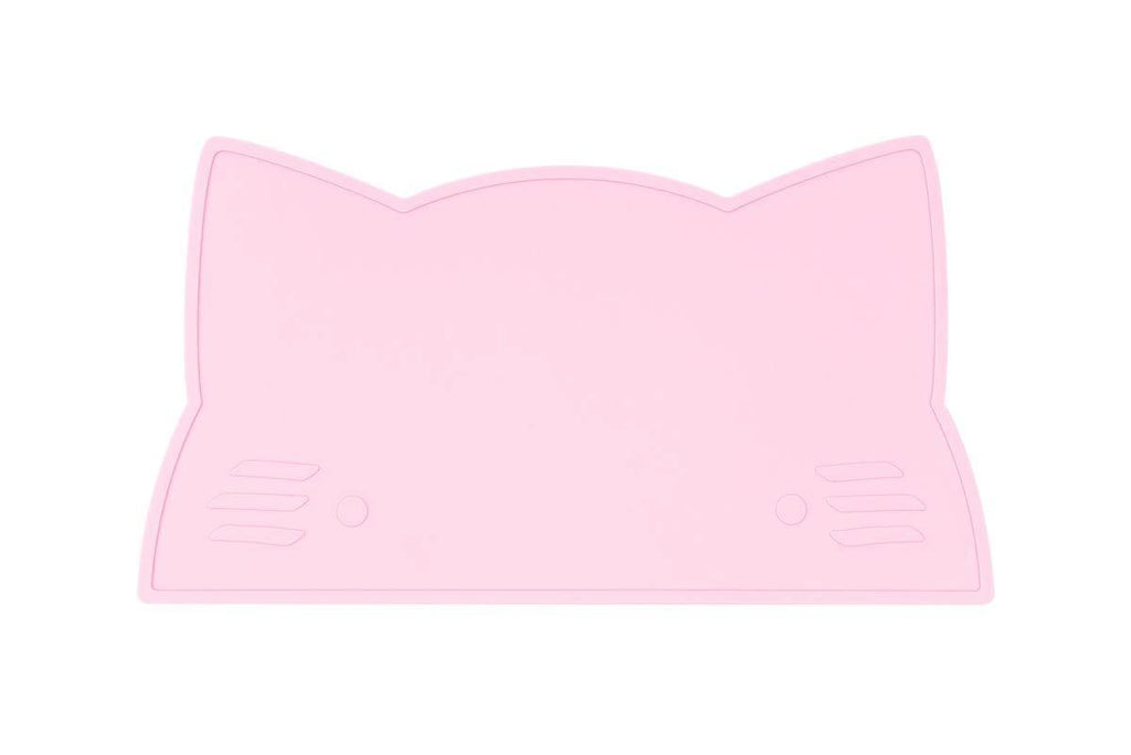 We Might Be Tiny Kid's Tableware Cat Placie In Powder Pink