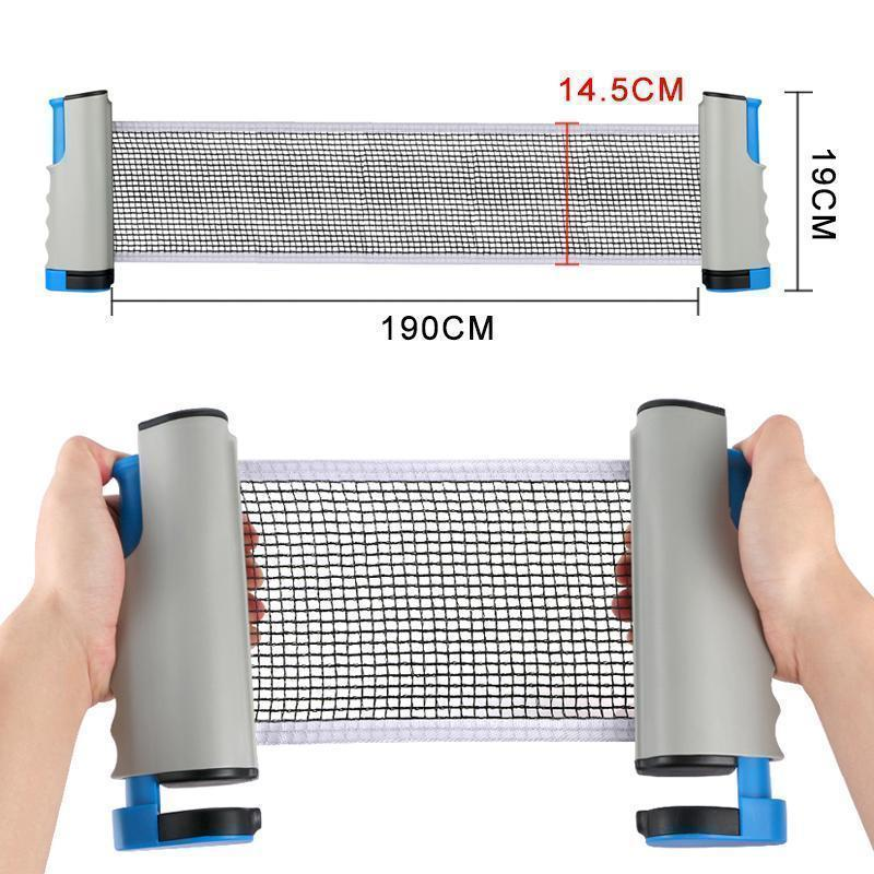 (30% OFF)-Retractable Table Tennis Net