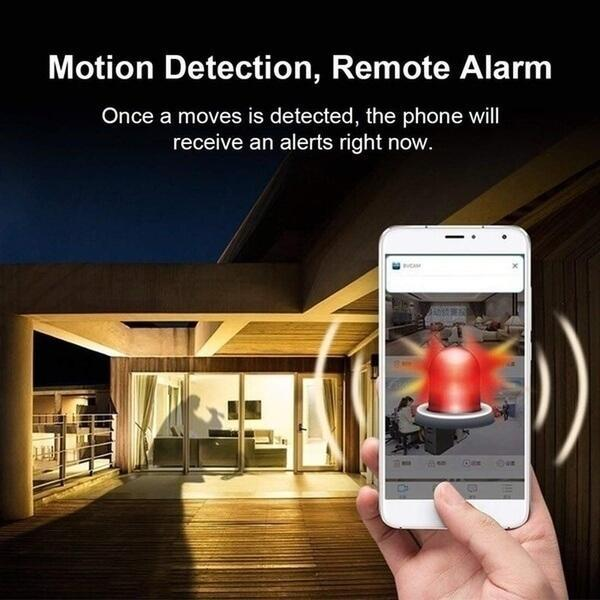 A9 WiFi 1080P Full HD Night Vision Wireless IP Camera
