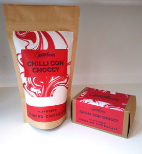 Chilli con choccy flavoured drinking chocolate