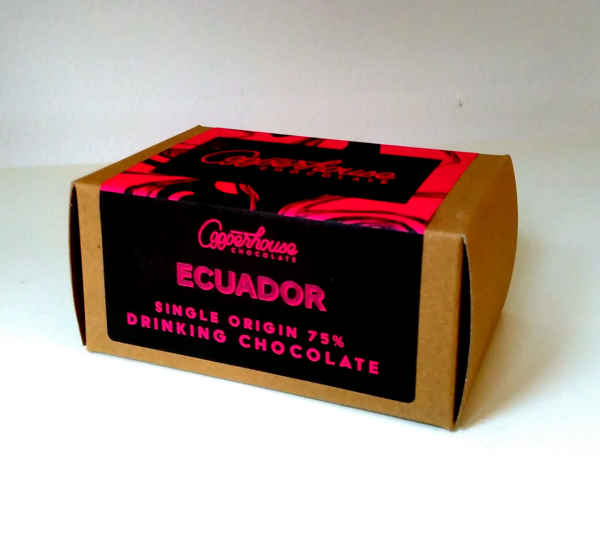 Ecuador 75% single-origin hot chocolate