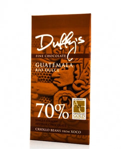 Duffy's - Guatemala Rio Dulce 70% dark chocolate