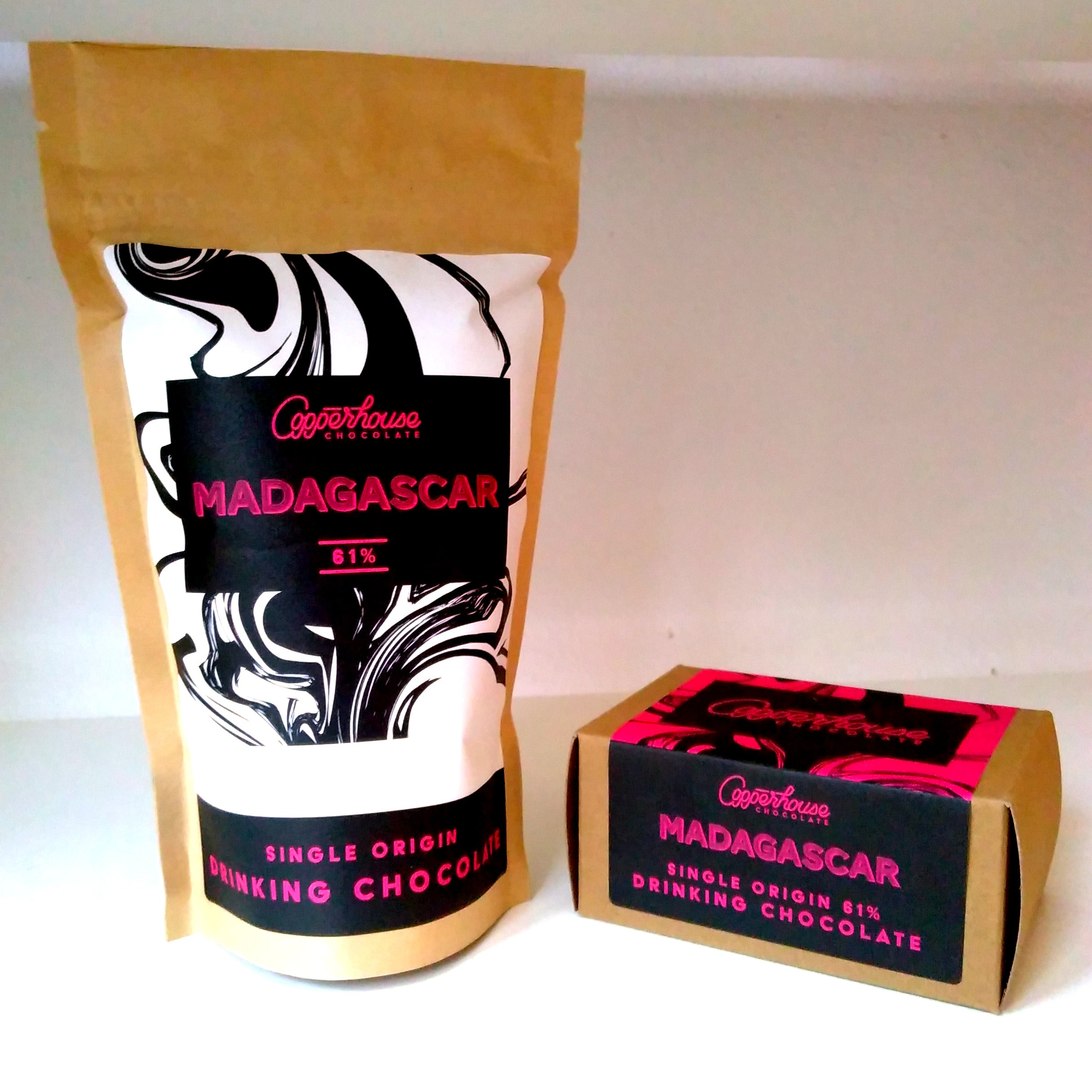 Madagascar 61% single-origin hot chocolate