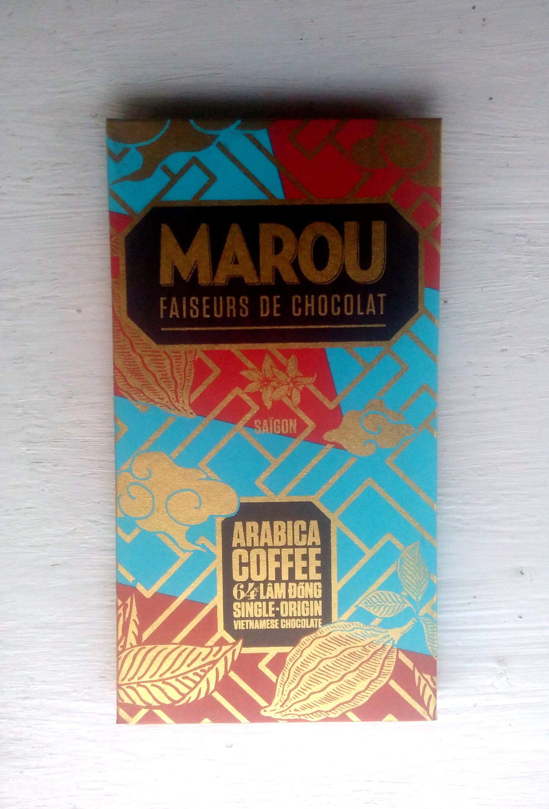 Marou - Arabica Coffee, Lam Dong 64%