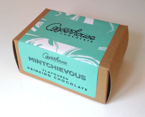 Mintchievous flavoured drinking chocolate