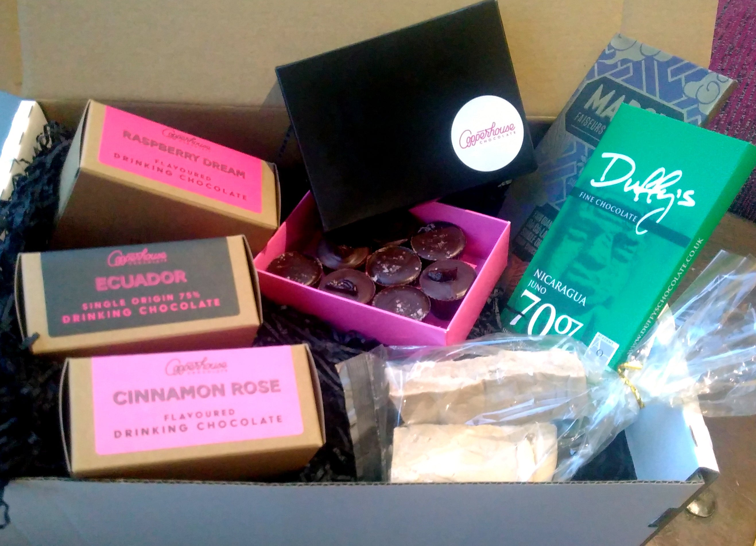 Copperhouse Chocolate gift box