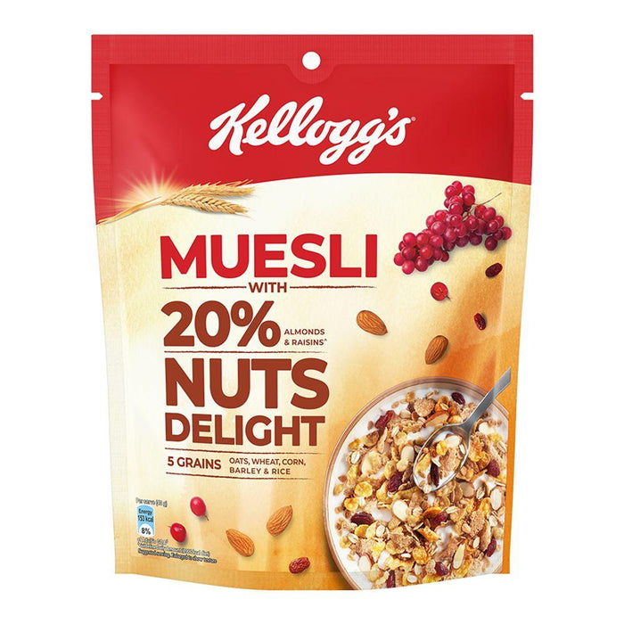 Kellogg's Muesli Nuts Delight 240 GM