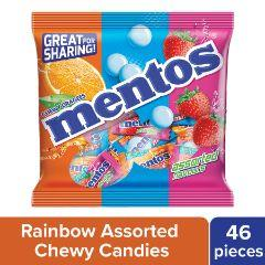 Mentos Chewy Dragees Assorted Flavours 156.4 GM
