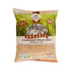 24 Mantra Organic Sonamasuri Brown Rice 1 KG