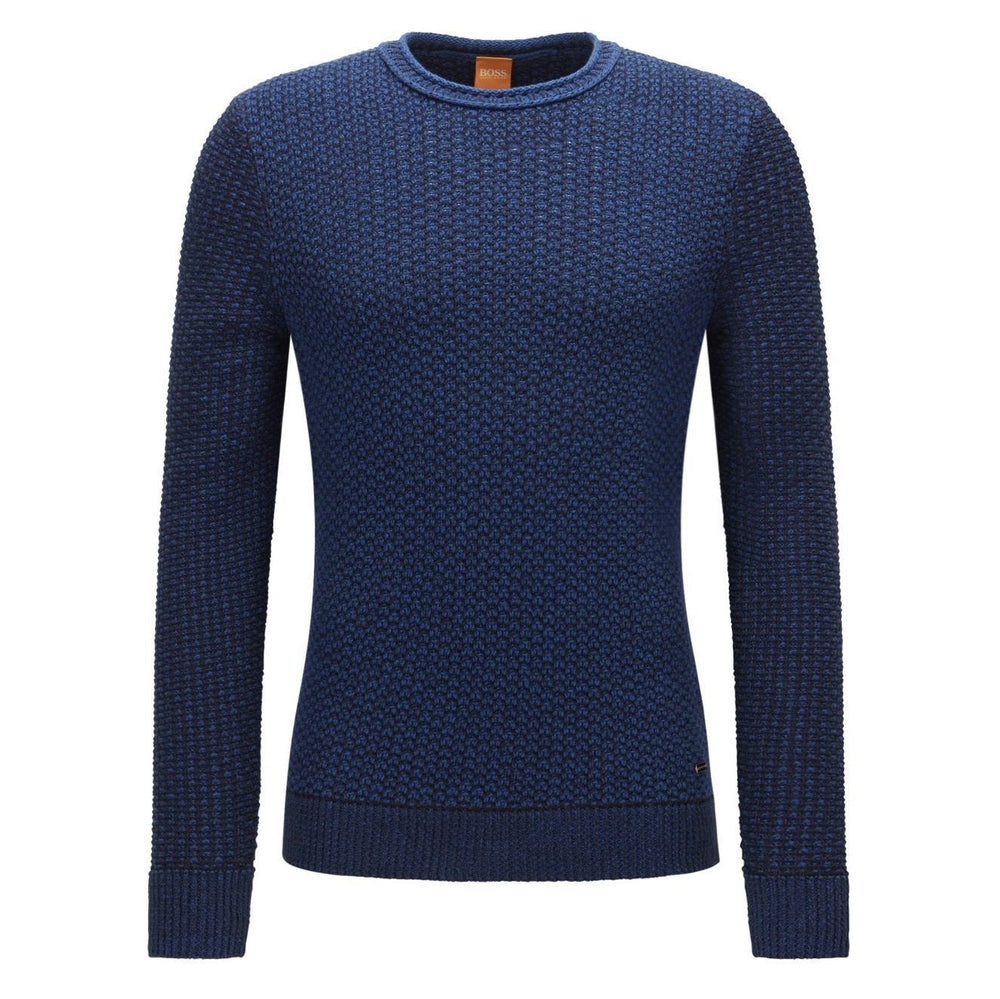 Load image into Gallery viewer, Hugo Boss-KINDPAUL SWEATER-BLUE / BLACK