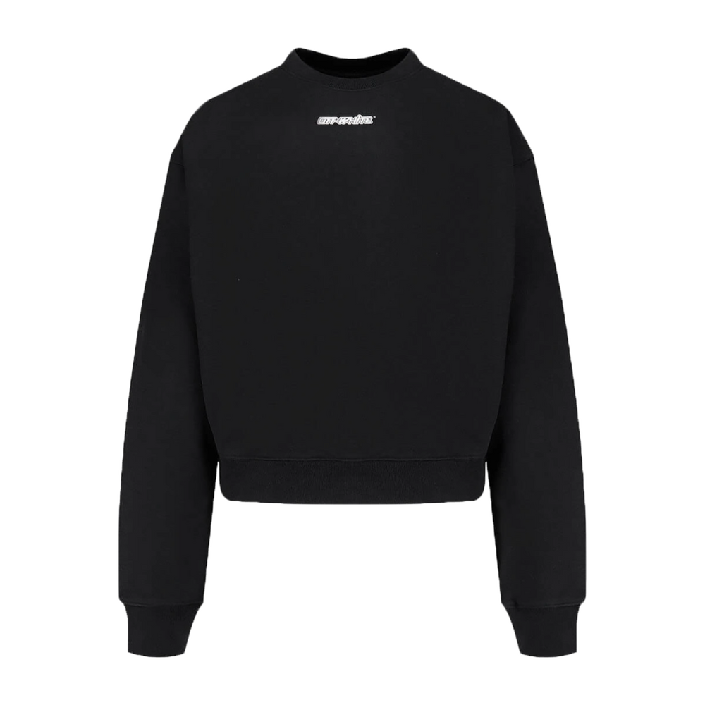 OFF-WHITE MARKER ARROWS SWEATSHIRT IN BLACK