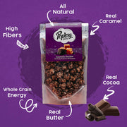 Poplay Caramel Chocolate Gourmet Popcorn (6 Packs x 100g)