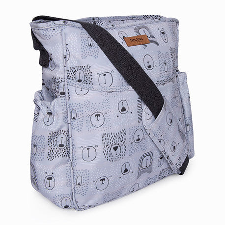 "Bolso Silla Paraguas ""Weekend Bears Gris"" Tuc-Tuc"