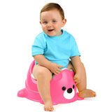 Orinal Bear Potty Rosa