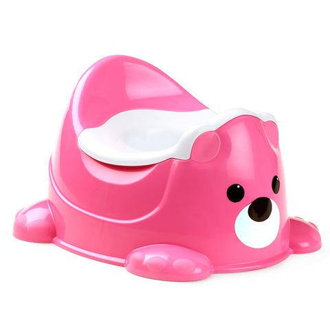 Bear Potty Rosa