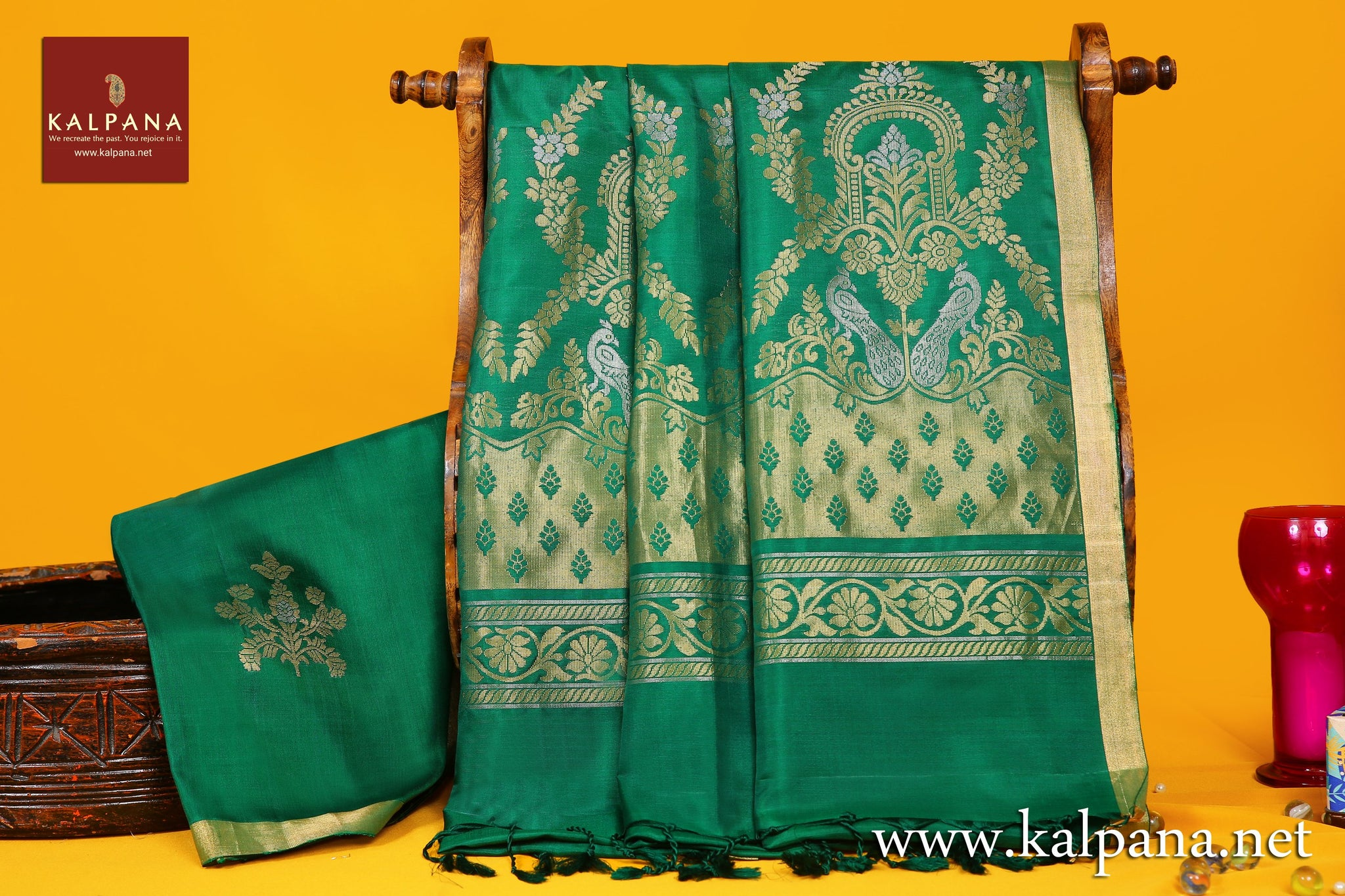 Coimbatore Handloom Pure Silk Saree with All Over Woven Motifs and Woven Zari Border. The Palla is  Woven Zari. It comes with Self Colored Plain Unstitched Blouse with Zari Border. Perfect for Multi Occasion Wear.  Recommended for All season(s). Dry Clean Only