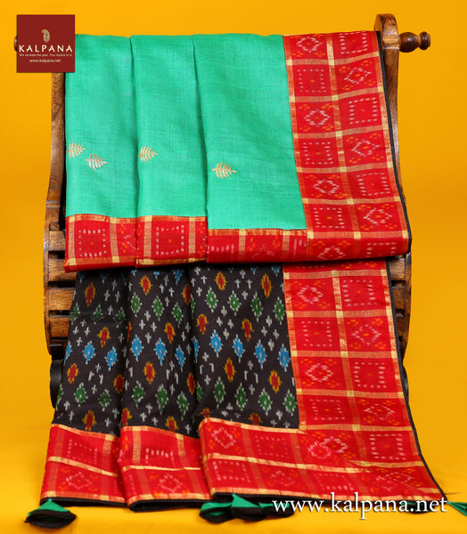 Embroidery Pure Tussar Saree