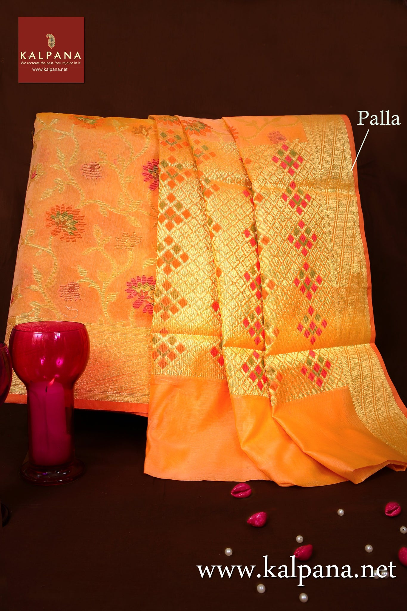 Benaras Woven Blended Cotton Saree