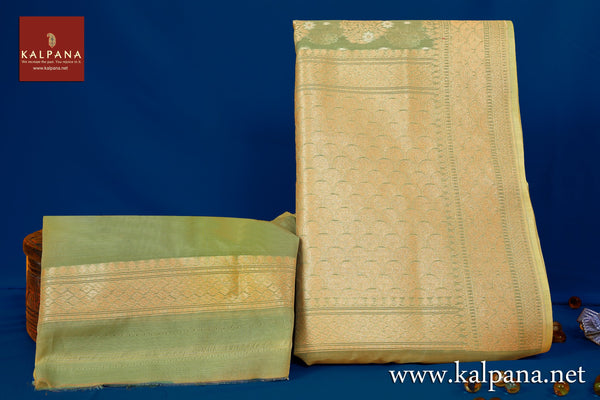 Benarasi Woven Blended Cotton Saree