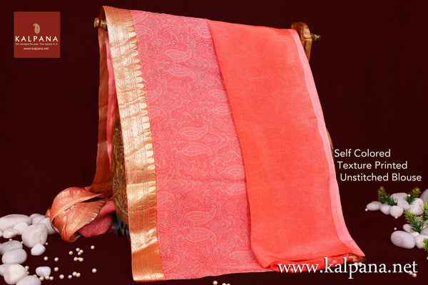 Printed Pure Chiffon Saree
