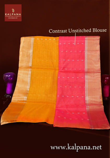 Coimbatore Handloom Pure SICO Cotton Saree