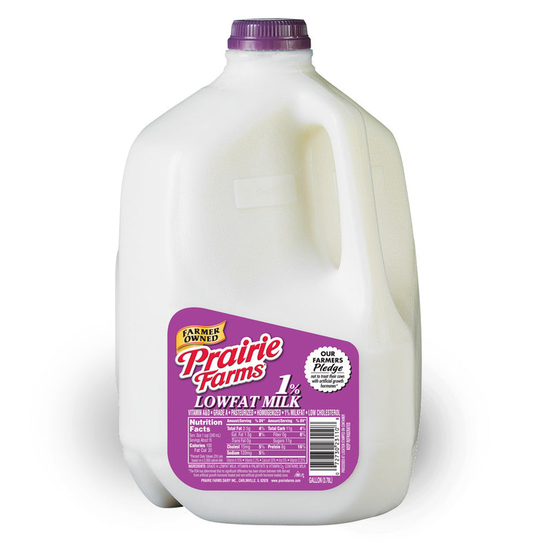 Prairie Farms 1% Milk - 1 Gallon