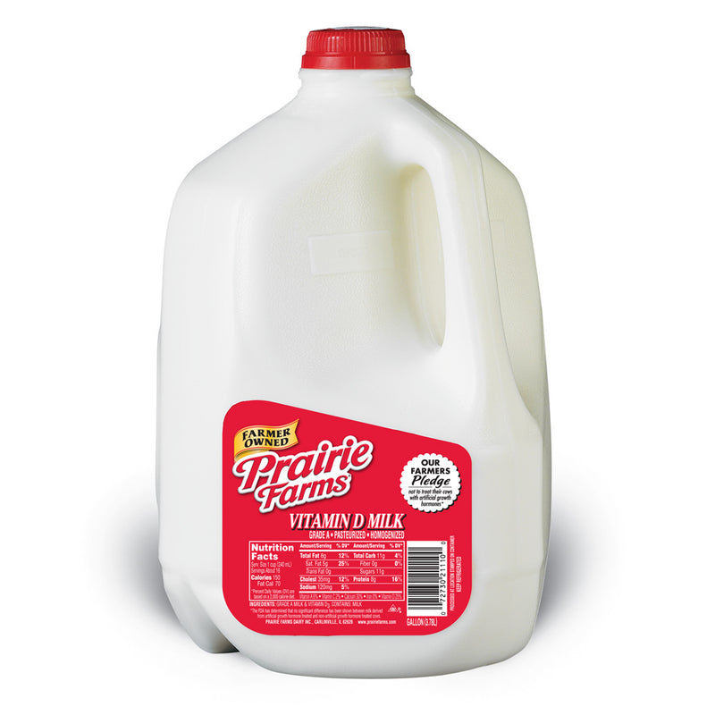Prairie Farms Whole Milk - 1 Gallon