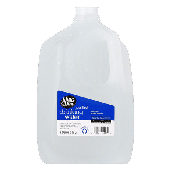 Shurfine Purified Drinking Water - 1 Gallon