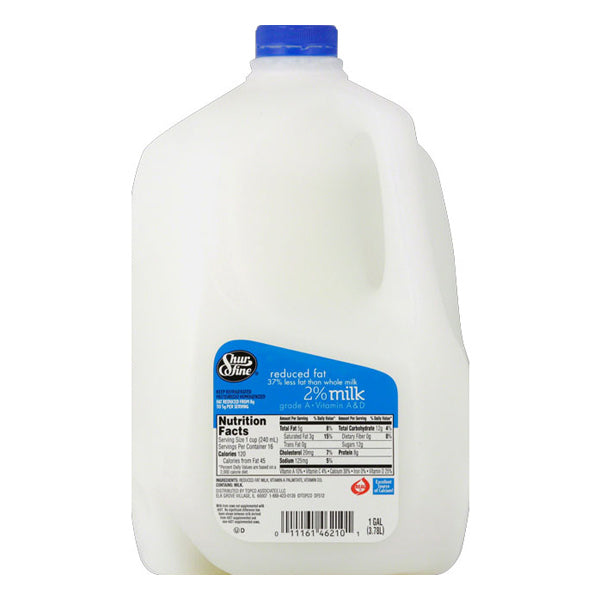 Shurfine 2% Milk - 1 Gallon
