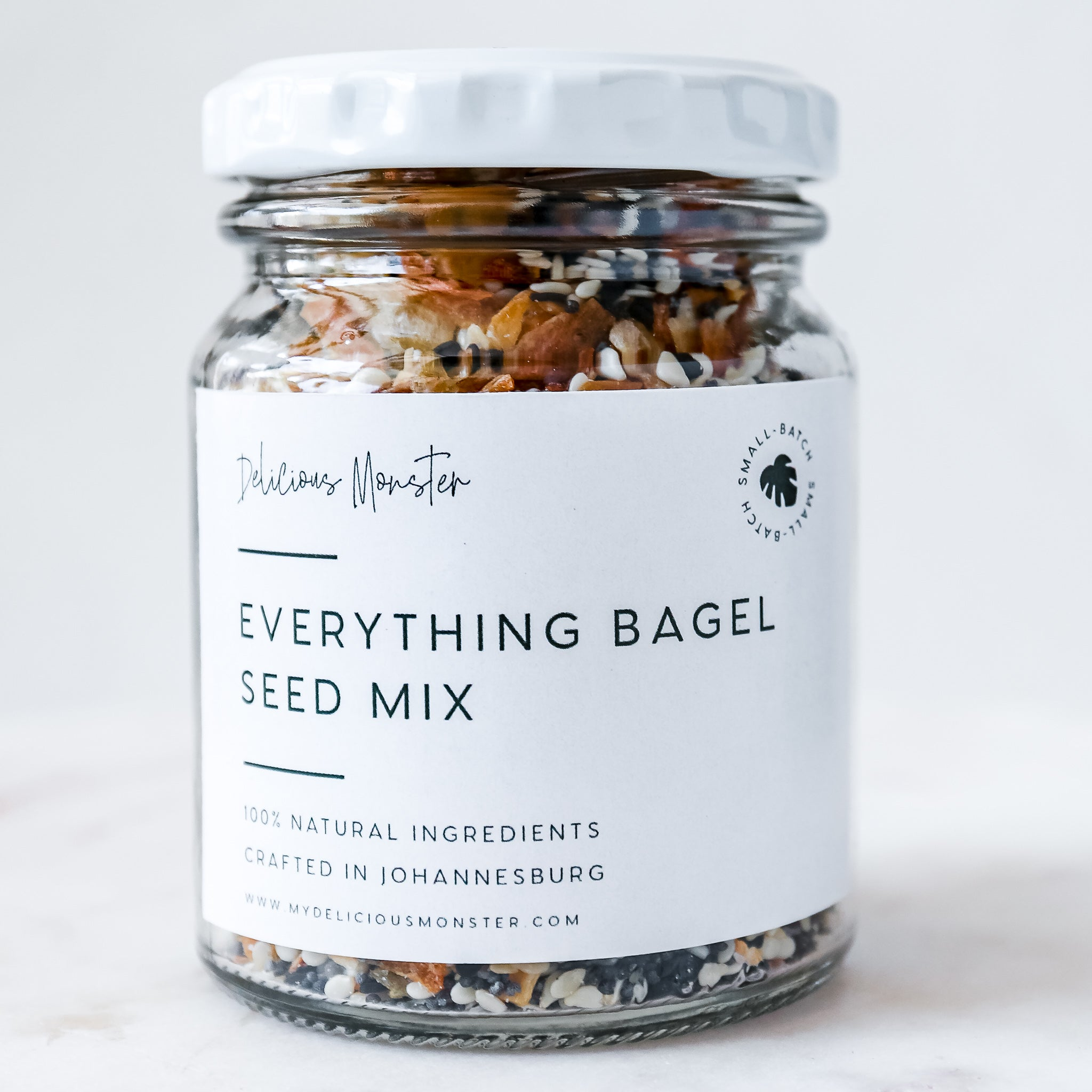 Delicious Monster Everything Bagel Seed Mix