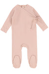 Lil Legs Cotton Wrapover Footie