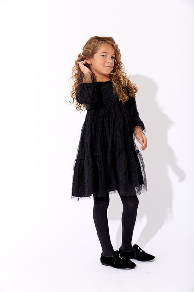 Lilou Dotted Tulle Dress