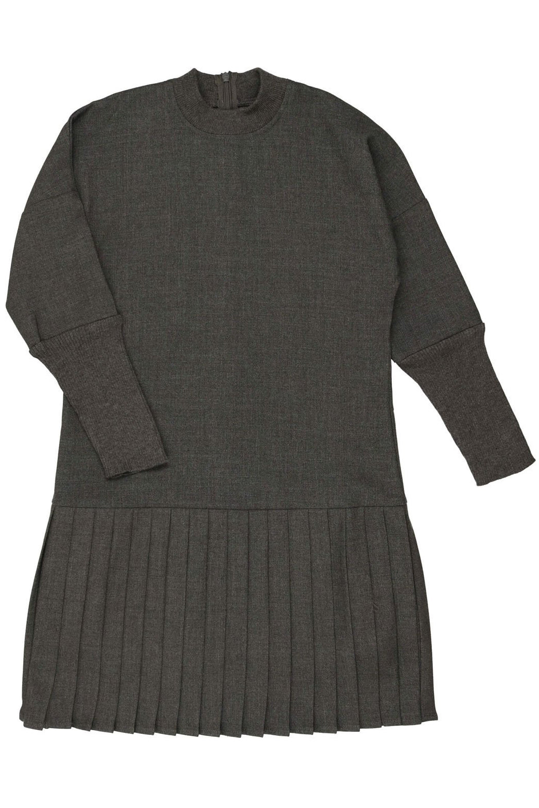 Cocoblanc wool pleated dress