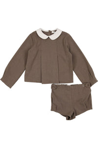 cocoblanc wool peter pan set