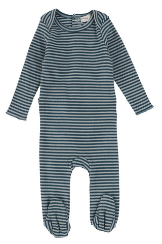 LL Ribbed Stripe Footie