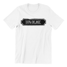 Load image into Gallery viewer, 100% Organic v2 T-shirt