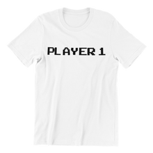 Load image into Gallery viewer, 8 BitHelmet Player 1 T-shirt