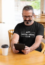 Load image into Gallery viewer, Anti Social Media Club T-shirt