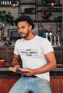 Anti Social Media Club T-shirt