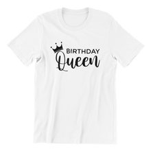 Load image into Gallery viewer, Birthday Queen T-shirt