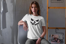Load image into Gallery viewer, Halloween Face T-shirt