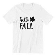 Load image into Gallery viewer, Hello Fall T-shirt