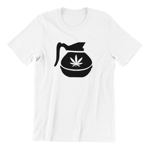Hemp Coffee Pot v2 T-shirt