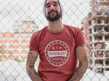 Load image into Gallery viewer, I Smoked Today T-shirt