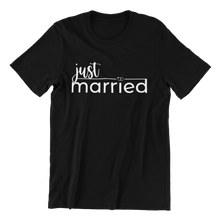 Load image into Gallery viewer, Just Married T-shirt