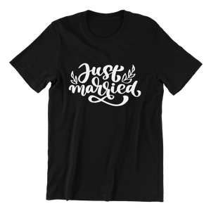 Just Married v2 T-shirt