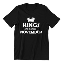 Load image into Gallery viewer, Kings Born In November T-shirt